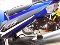 R&G Tail Tidy / Licence Plate Holder Yamaha YZF R6 2005 LP0002BK Black