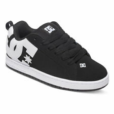 DC Shoes Hombre Court Graffik Zapatillas Zapatos Negros Kicks R SPORTS Nudo