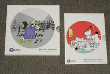 FINLAND, 2014/15, Moomin, UNC, euro coin set, 2sets/lot