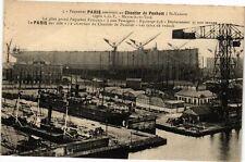CPA Paquebot Paris construit au Chantier de Penhoet a St-Nazaire (250732)