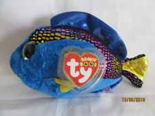 Ty Beanie Boo Plush - Aqua The Blue Fish 15cm