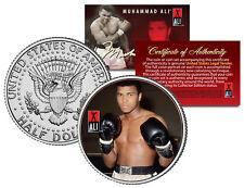 """Muhammad Ali """"Gloves"""" JFK  Kennedy Half Dollar US Coin *Officially Licensed*"""