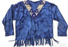 MARY LYNN BLOUSE HANDCRAFTED ORIGINAL FROM USA ONE SIZE FITS ALL