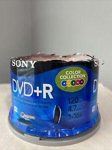 Sony DVD-R  50 Pack 120 Min. 4.7 GB New