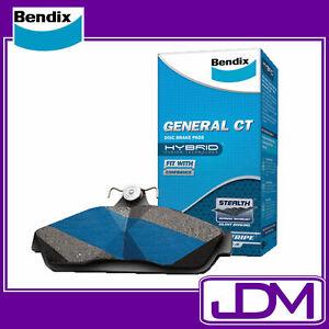 BENDIX CT Rear Brake Pads to suit FORD FG XR6 - TURBO,XR8, G6E TURBO