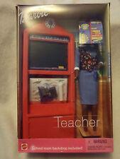 2000 Mattel Barbie African American Teacher Doll #50614 NRFB
