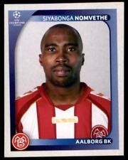 Panini Champions League 2008-2009 - Aalborg BK Siyabonga Nomvethe No.40