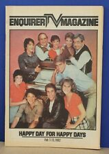 Cincinnati Enquirer TV Magazine Feb 7 1982 Happy Days Cast on Cover