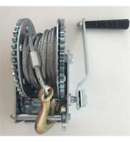 Boss Buck Winch 1,200 lb with Cable & Hook - Gear Ratio: 4.1:1 BB-392
