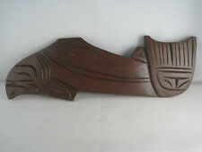 Squamish Coast Salish - Carved Wood - Salmon by Paul Joseph - 1986 - Native Art