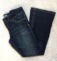 Aeropostale Women's Size 13/14 Hailey Skinny Flare Jeans Stretch Medium Wash
