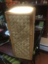 Bamboo Wicker Rattan Floor Lamp Standing Light Or Display Stand