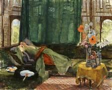 John Frederick Lewis The Siesta Fine Art Giclee Print on CANVAS Home Decor Small