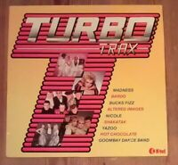 Various ‎– Turbo Trax Vinyl LP Compilation 33rpm 1982 K-Tel ‎– NE 1176