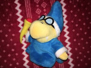 "OFFICIAL 7"" Sanei Super Mario MAGIKOOPA Plush Nintendo Kamek Toy 2012"