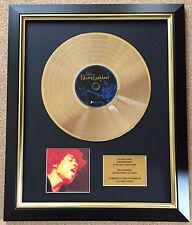 Jimi Hendrix / Ltd Edition CD Gold Disc / Record / Electric Ladyland
