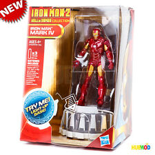 MARVEL Iron Man 2 Hall of Armor Collection MARK IV Figure Light Up Base NEW