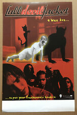 Full Devil Jacket Rare 1999 Promo Ponly Oster for Wax Box Cd Usa Mint 11x17