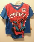 NEW BOY'S SPIDEY 1962 SPIDER MAN TWO PIECE LONG PANT PAJAMA SET SIZE XS M or L 1