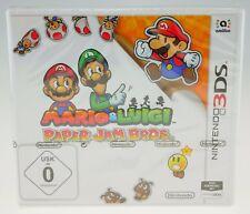 Mario & Luigi: Paper Jam Bros. Nintendo 3DS NEW NEU eingeschweißt SEALED
