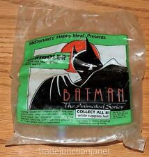 """MIP 1993 McDONALDS HAPPY MEAL BATMAN ANIMATED SERIES """"RIDDLER"""" ARTICULATED TOY"""