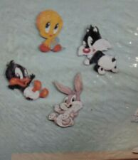New 1997 Baby Looney Tunes nursery Decor Bugs Tweety Sylvester Daffy by Dolly