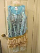 Disney Hannah Montana Costume -  Concert Dress Blue New W/O Tags