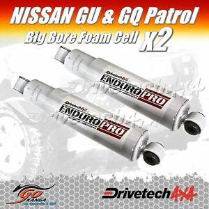 Drivetech 4x4 DTS1009B Big Bore Rear Shocks fits Maverick & Nissan GQ-GU Patrol