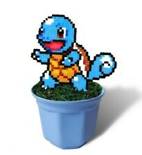 Squirtle Figure, Gift For Pokemon Lover, Hama Beads, Pokefan Room Decoration