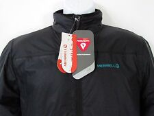 Merrell PrimaLoft Endothermic LT Jacket Men's Black Insulated Lightweight, sz M