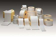250 ONE COLOUR or Plain Self Adhesive/sticky Paper Labels/sticker CUSTOM PRINTED