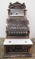 Small National Cash register model 312 professionally restored in antique copper