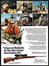 Jan. 1984 Weatherby Lazermark Mark V Magnum Rifle Ad Collectible Advertising