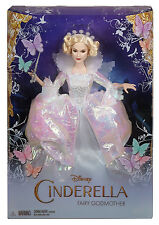 Disney Princess Cinderella Fairy Godmother Doll - Brand New & Boxed