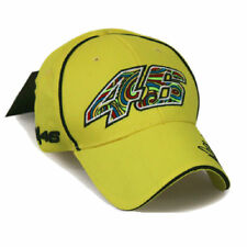 New Yellow Valentino Rossi VR46 Moto GP Baseball Cap Hat 3D Embroidered