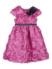 Joe-Ella Portia Fuschia Tiered Ruffle Girls Party Dress $64 Retail Size 4 New