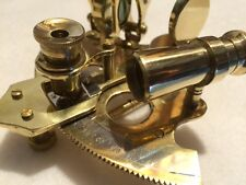"4"" Nautical Brass Sextant ~ NO BOX ~ Sextent Astrolabe"