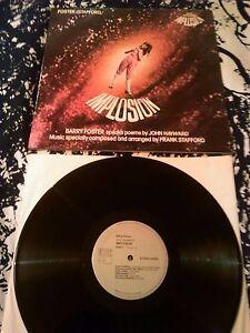 FOSTER / STAFFORD - JOHN HAYWARD'S IMPLOSION LP + BOOK EX!!! UK DICOMUS LIBRARY