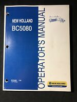 New Holland Operator's Manual BC5080 Baler *513