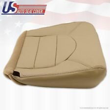 1999 Ford F250 F350 Lariat Driver Bottom Replacement vinyl Seat Cover prairi Tan