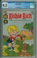 RICHIE RICH #2 CGC 4.5 CR/OW PAGES
