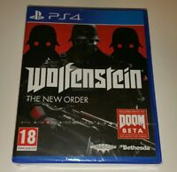 Wolfenstein The New Order PS4 New Sealed UK PAL Game Sony PlayStation 4