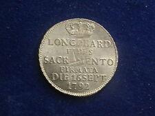 """1 / 2 Lira  Giuramento 1792  Mailand Franz II. """" Erhaltung """"   W/17/652"""