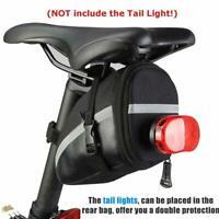 Bicycle Waterproof Storage Saddle Bag Bike Seat Cycling New Pouch Rear U2Q7