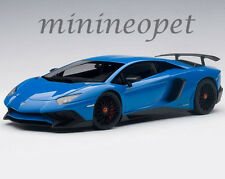 AUTOART 74559 LAMBORGHINI AVENTADOR LP750-4 SV 1/18 MODEL CAR LE MANS BLUE
