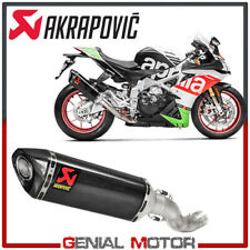 Exhaust Carbon Muffler Akrapovic for Aprilia Tuono V4  2017 > 2019