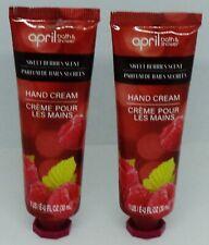 2 April Rough Dry Spots Hand Cream Sweet Berries 1oz ea Sealed
