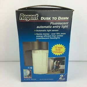 Regent Dusk To Dawn Outdoor Light Model EL13FPC