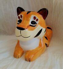 Year of the Tiger Coin Bank 2010 Wells Fargo Promotional China Piggy Bank