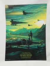 STAR WARS The Force Awakens Promo Photo AMC IMAX Movie Poster 2/4 9.5x13